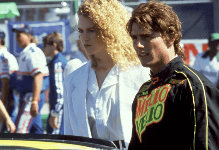 Kidman & Cruise met on the set of Days of Thunder.
