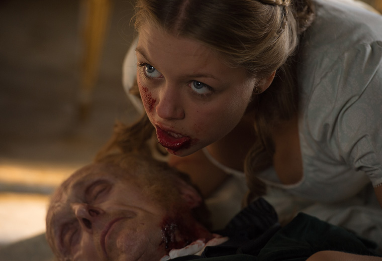 Pride And Prejudice And Zombies available now on Virgin Movies