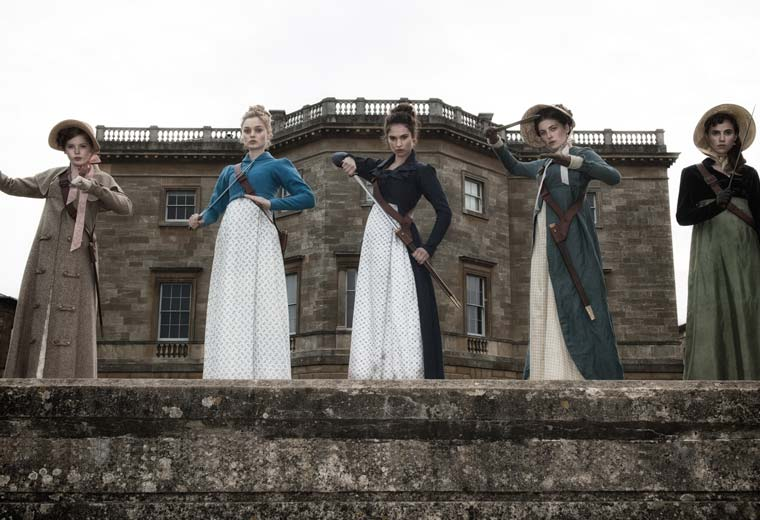 Watch Pride And Prejudice And Zombies now on Virgin Movies
