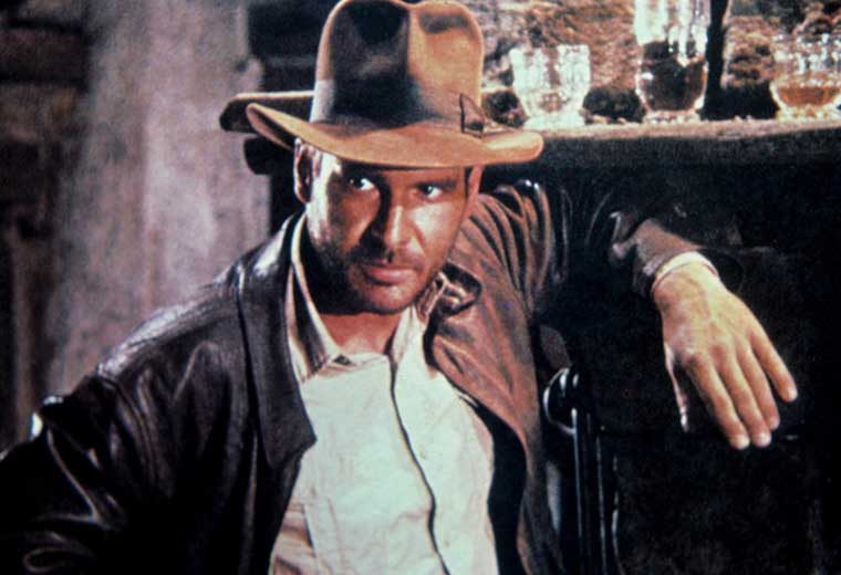 This man was both Indiana Jones AND Han Solo.  #LifeGoals