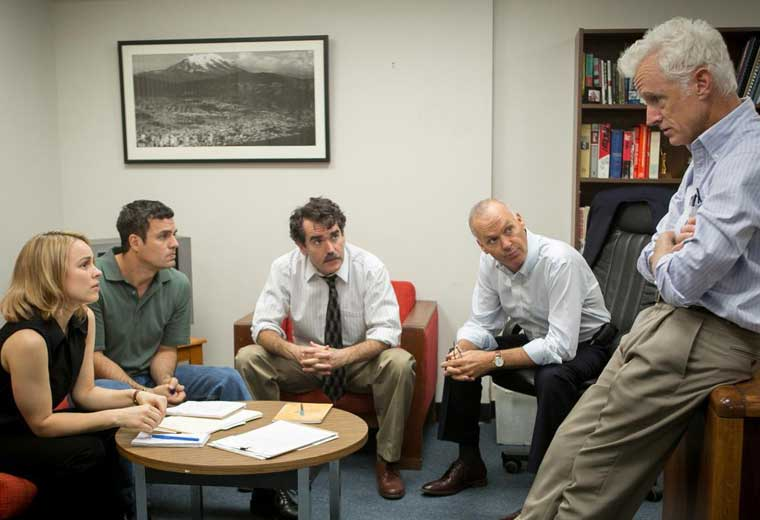The Spotlight team turn the spotlight on Ben Bradlee Jr (John Slattery)