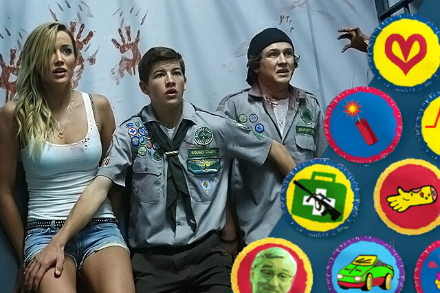 Scouting badges for hunting zombies