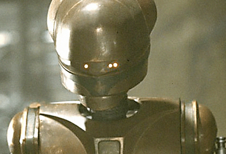 Richard Marquand voiced Jabba's chief droid EV-9D9.