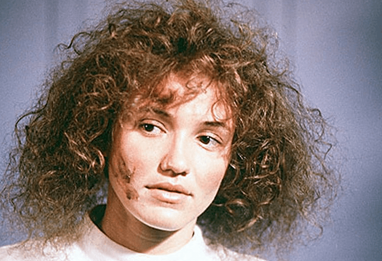 Cameron Diaz stole the show with her wild, frizzy hair