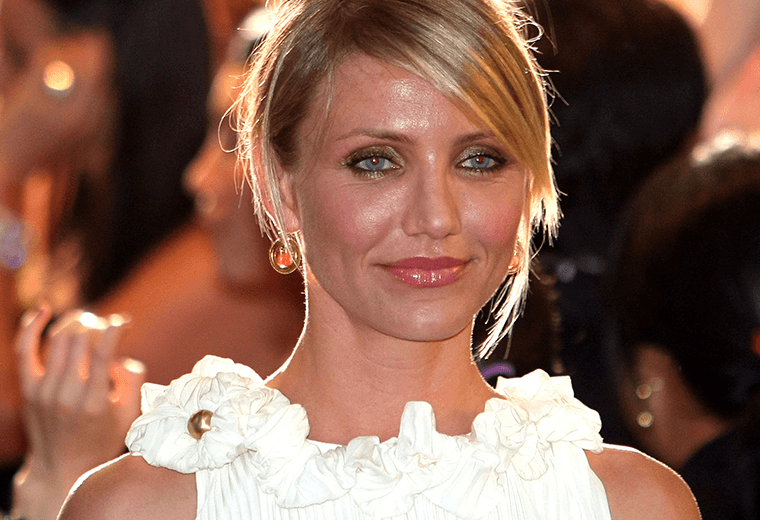 Cameron Diaz's Lotte was a whopping transformation.