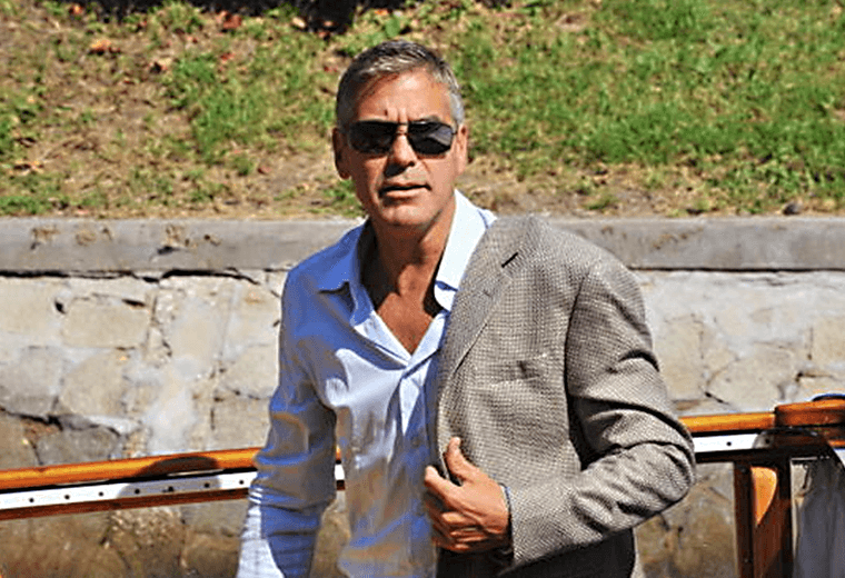 Could Clooney be any cooler?