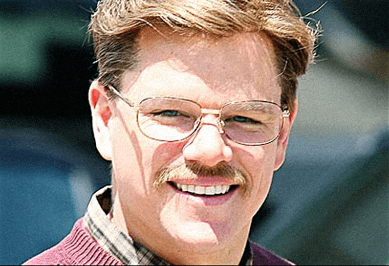 Matt Damon: giving Tom Selleck a run for his money.