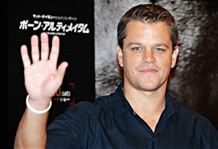 Matt Damon: making all the ladies swoon.
