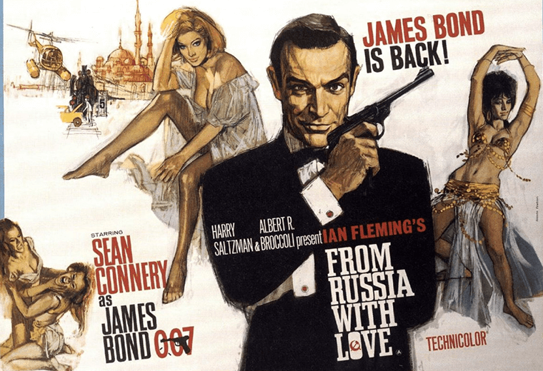 James Bond vs Red Grant – From Russia with Love