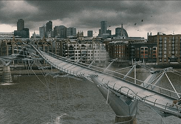An unholy opening 10 minutes as the Death Eaters terrorise London.