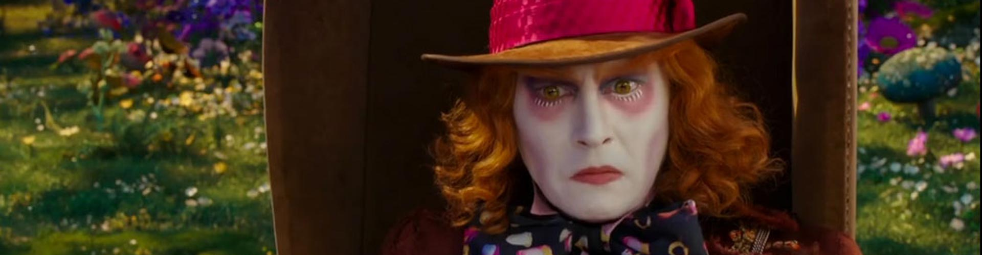 It's a race against time for Alice in the new Alice Through The Looking Glass trailer