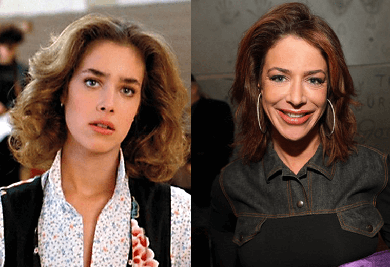 Claudia Wells now runs an Armani store in California.