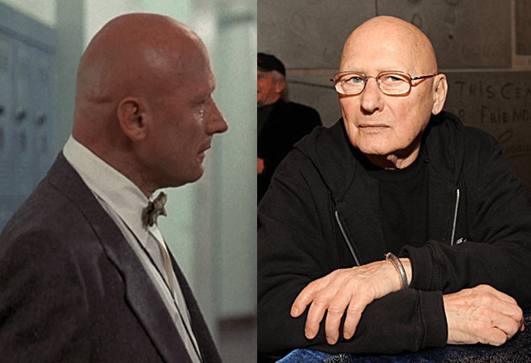 James Tolkan has appeared in numerous recent films.