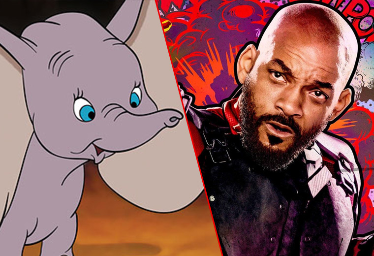Will Smith linked to Disney's live-action Dumbo remake