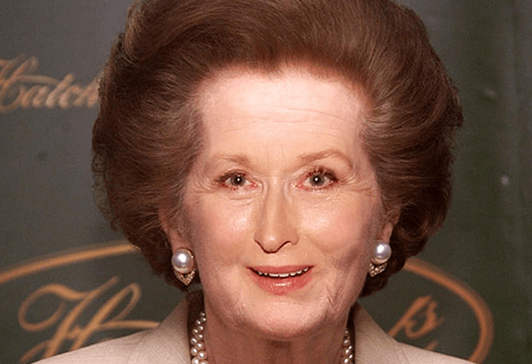 We can't imagine Meryl Streep ever being referred to as an 'iron lady'!
