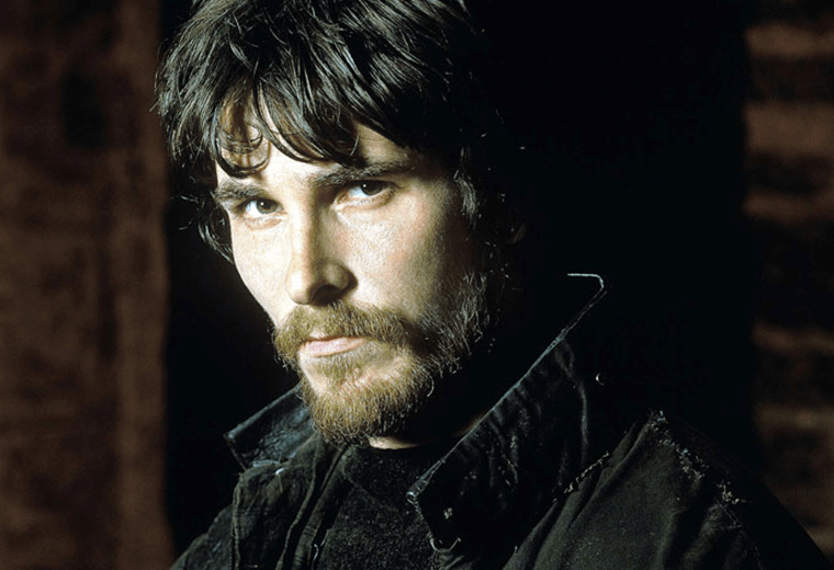 Christian Bale, looking rugged.