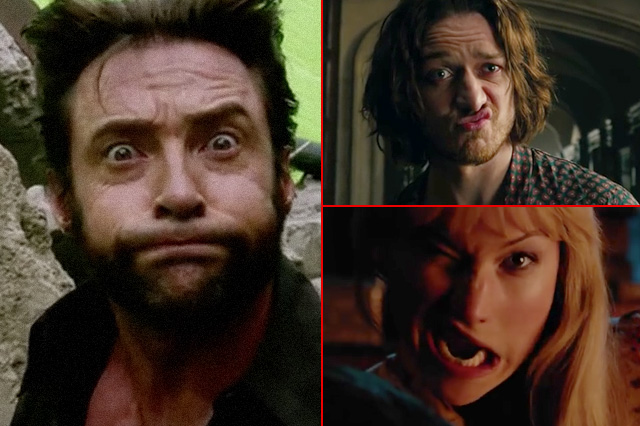 The funniest X-Men's bloopers