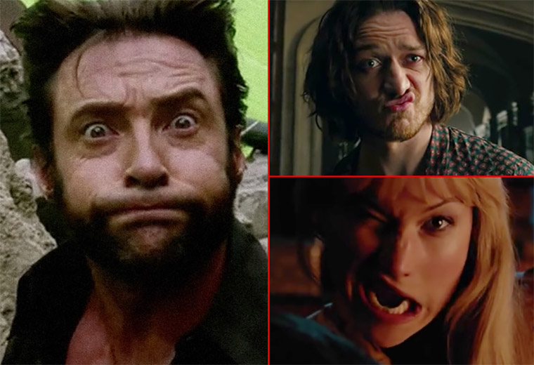 The funniest X-Men bloopers