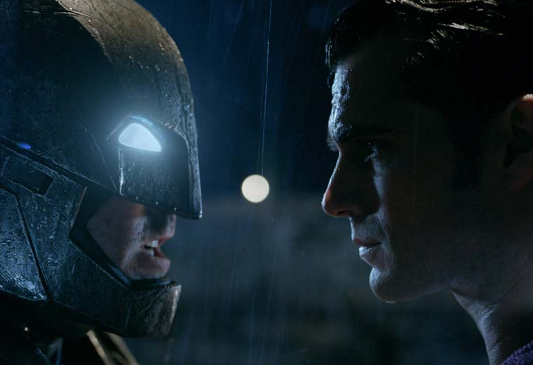 Batman v Superman: Whose chin will win?