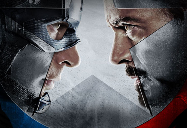 The Avengers staring contest got intense