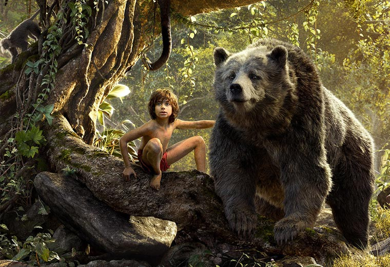 The weirdest and most wonderful gifs from The Jungle Book