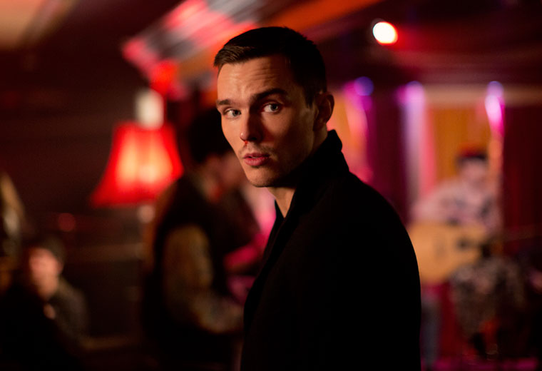 Nicholas Hoult is a British psycho in Kill Your Friends