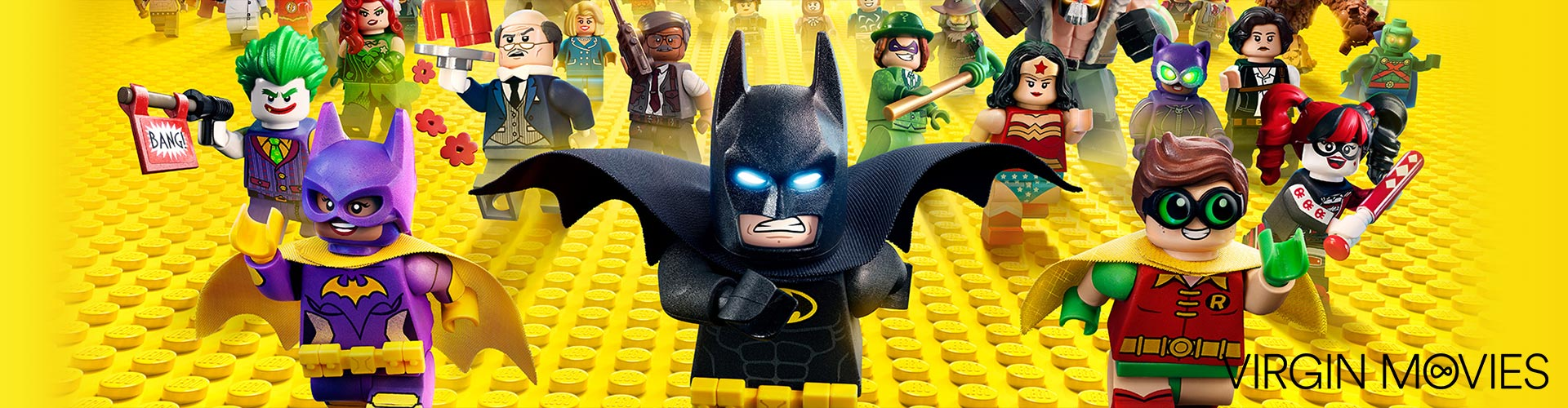 The LEGO Batman Movie – available now on Virgin Movies