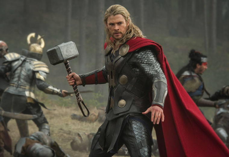 Even Thor's mighty hammer can't smash through the impenetrable plot