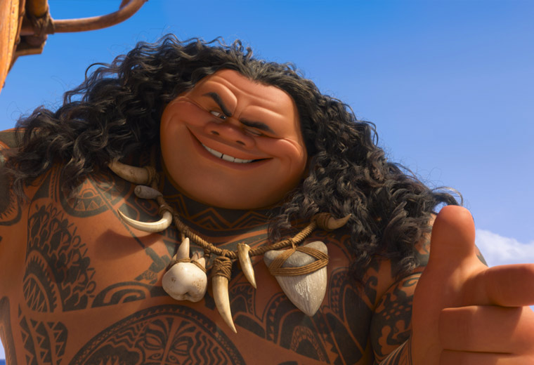 The best Easter Eggs in Moana