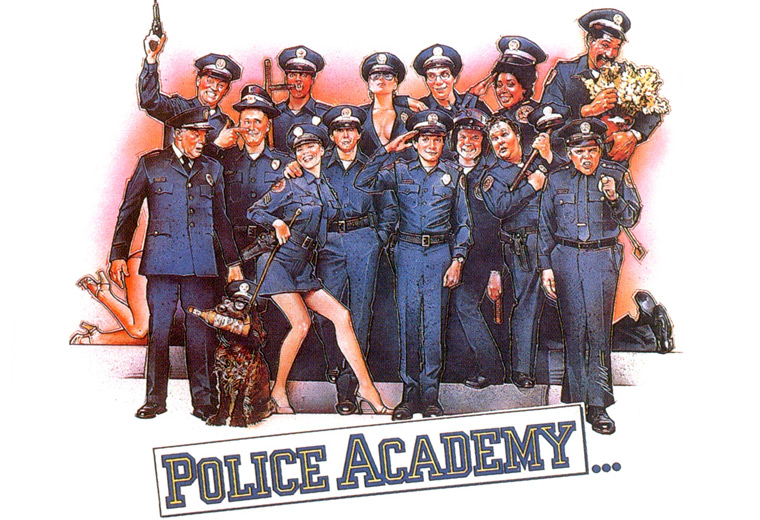 There was a dog in Police Academy?