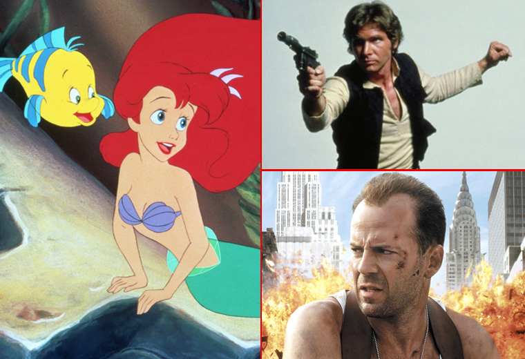 The weird origins of your favourite movie characters