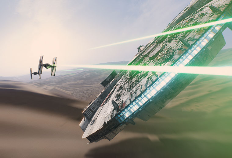 The best movie spaceships for flying around the galaxy