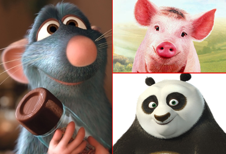 "The cutest movie animals to make you go ""Aaaahh!"""