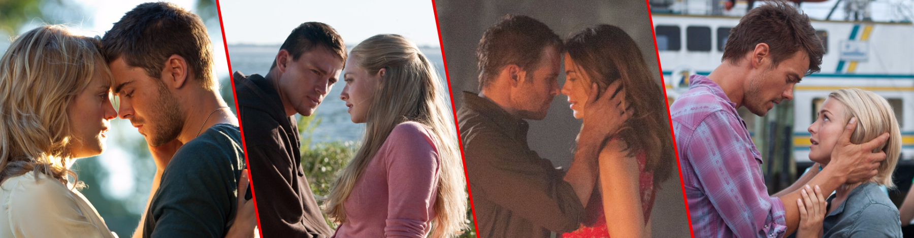 Romantic Sparks: A guide to Nicholas Sparks's most romantic adaptations