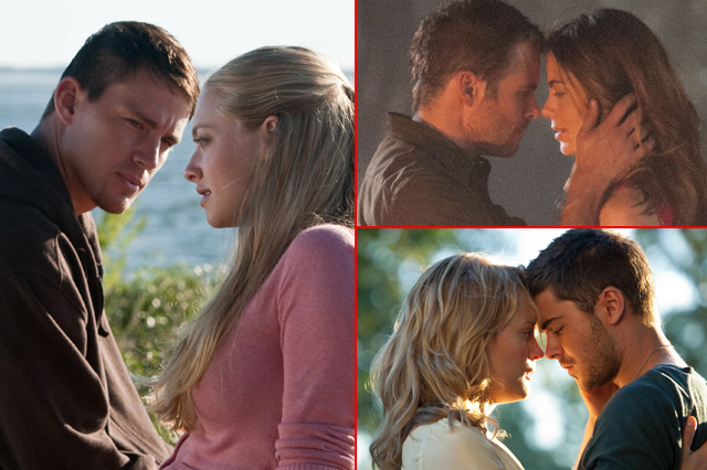 A guide to Nicholas Sparks's most loved-up adaptations