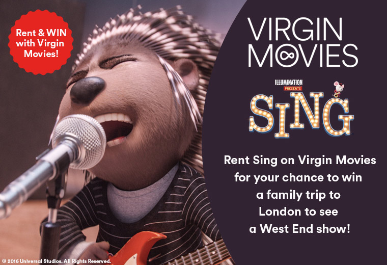 Rent and win with Virgin Movies