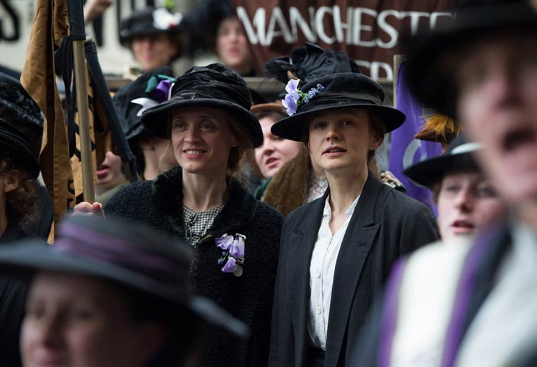 Why was Suffragette snubbed at the Oscars?