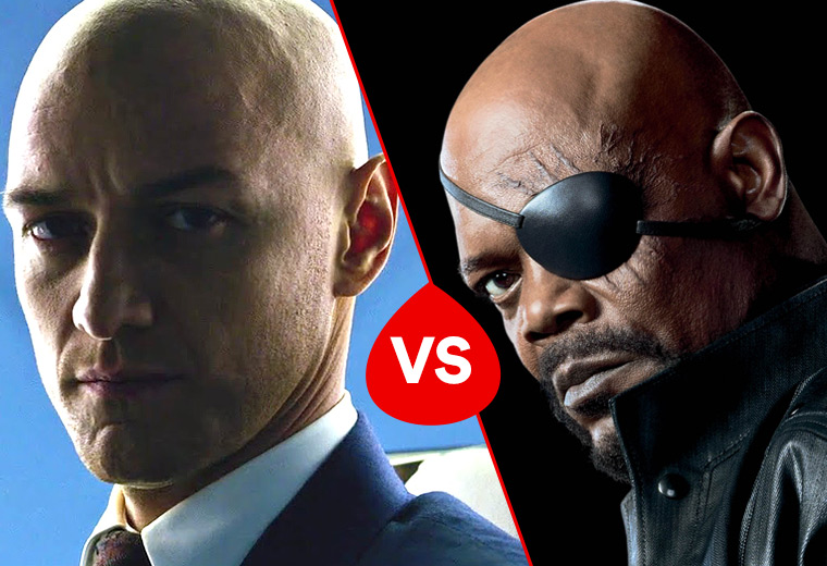 Battle of the baldies!