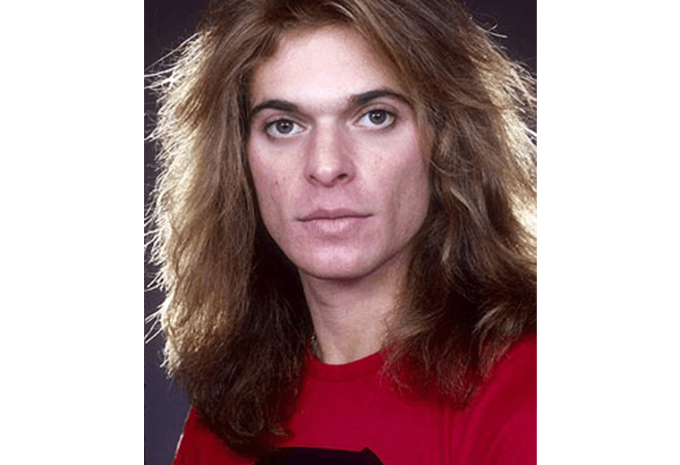 David Lee Roth, aka Diamond Dave.
