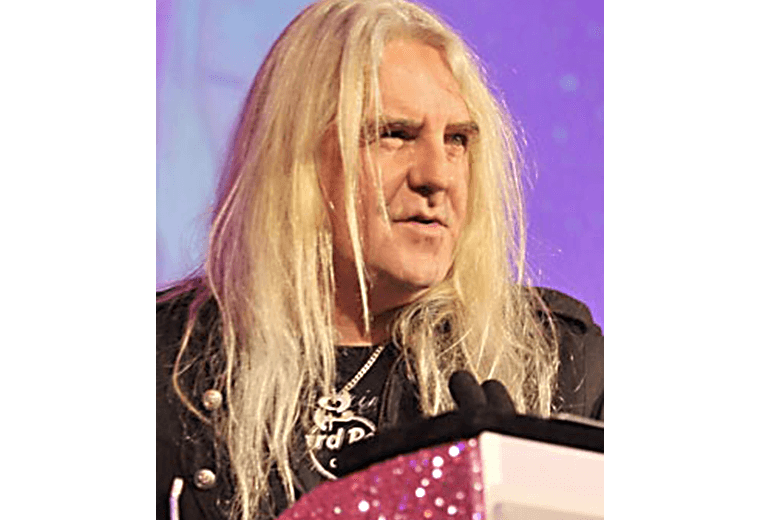 Biff Byford, campaigning for heavy metal as a religion.