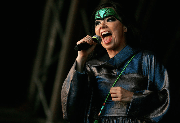 Björk banned from China after dedicating a song to Tibet.
