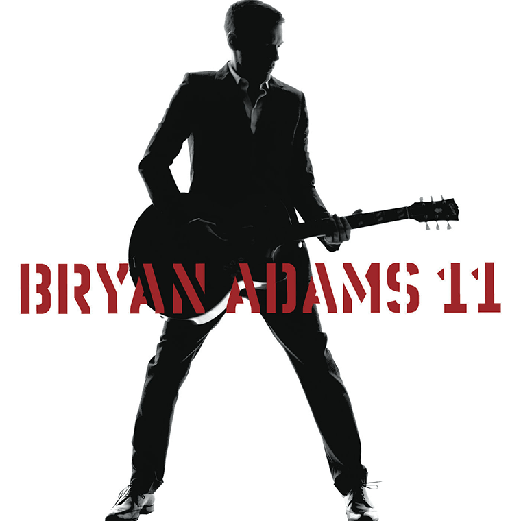 Artwork to Bryan Adams' album 11