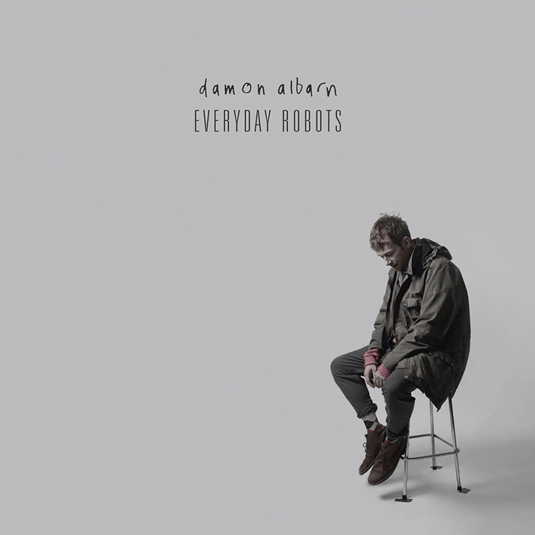 Cover of Damon Albarn's album Everyday Robots