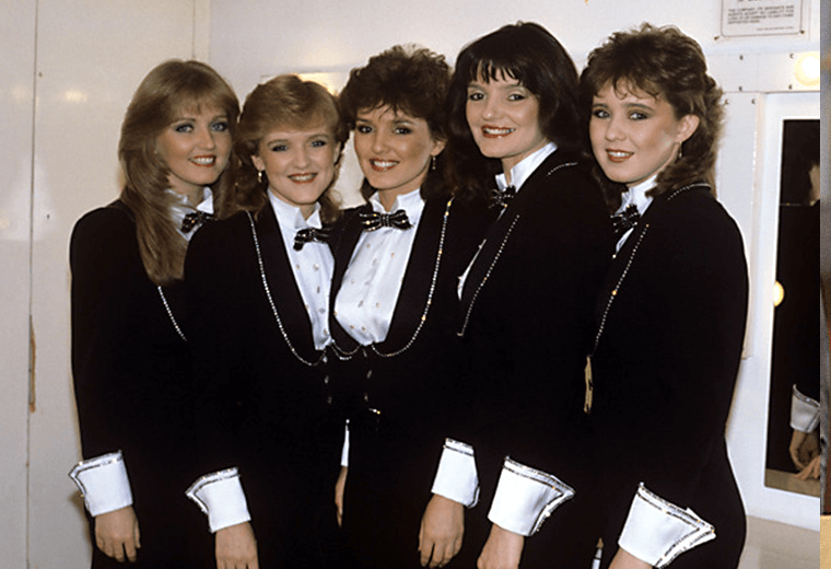 The Nolans, best known for their catchy hit I'm in the Mood for Dancing.