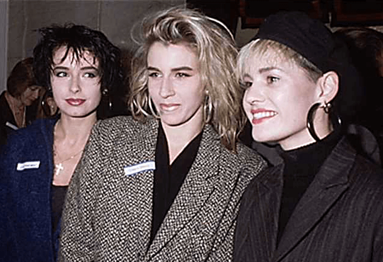 Bananarama, the biggest girl band of the 80s.