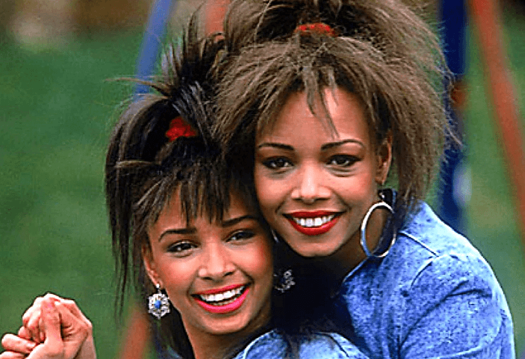 Mel and Kim, massive in the mid-80s with Showing Out and Respectable.