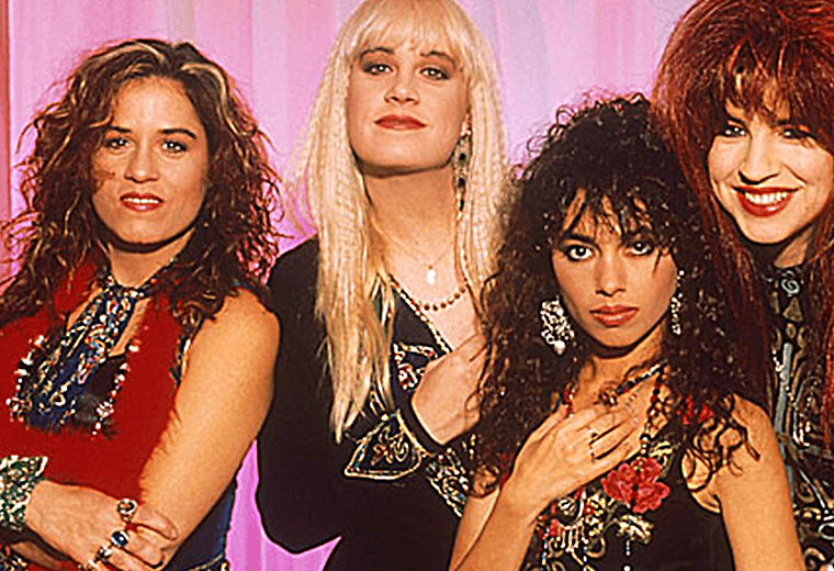 The Bangles, one of the key girl bands of the 80s.