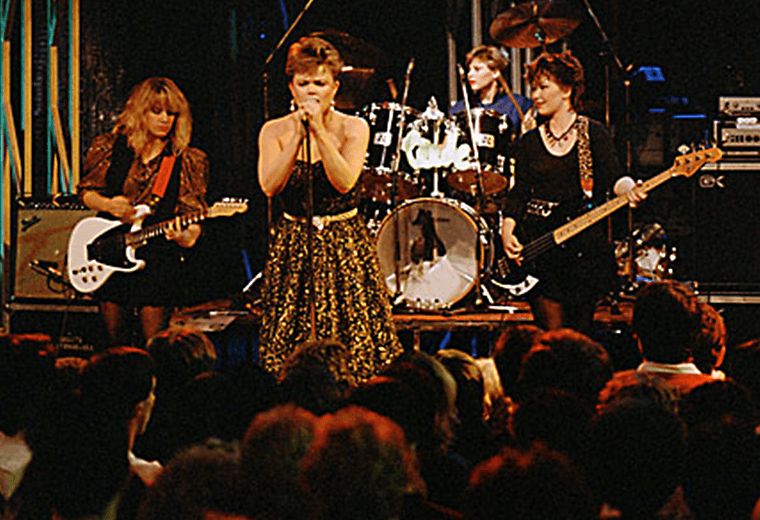 The Go-Gos were massive in the US in the early 80s.