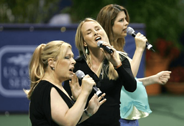 Wilson Phillips, they reformed in 2004 with a covers album.
