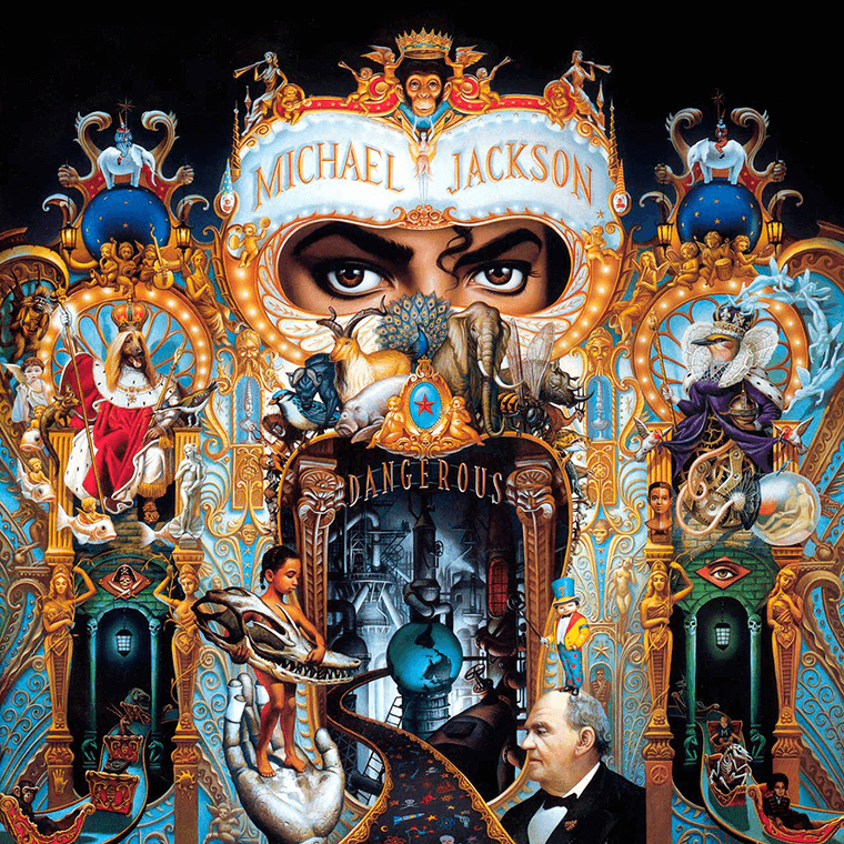 Michael Jackson: dangerously over the top.
